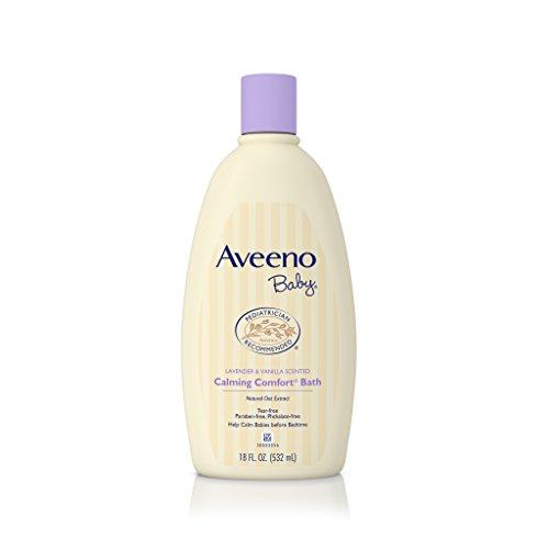 aveeno-baby-calming-comfort-bath-lavender-vanilla-18-ounce