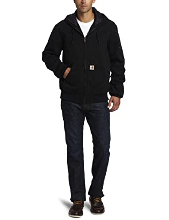 Carhartt Men's Ripstop Active Jacket, Black, S