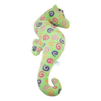 "Swirl Print Green Seahorse 21"" by Fiesta"