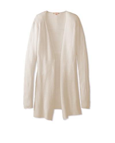 Kier & J Women's Waterfall Cardigan Sweater  [Crème]