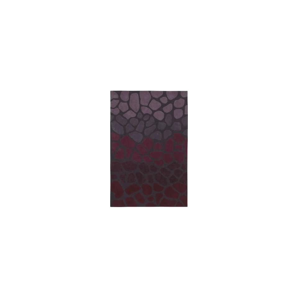 Shaw Loft Stone Walk 9 x 13 Purple Area Rug