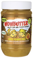 WOWBUTTER Peanut Free Soy Butter Spread - Creamy - 17.6 oz