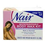Nair Microwavable Body Wax Kit Salon Divine, Sensual Orchid 1 kit