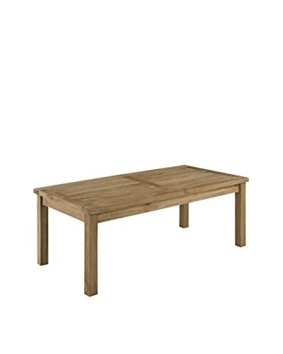 Modway Marina Outdoor Patio Teak Rectangle Coffee Table, Natural