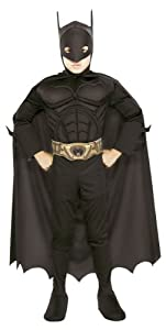 All NEW Deluxe MUSCLE CHEST Officially Licensed Batman Begins Costume