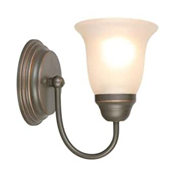 Hampton Bay 1 Light Oil Rubbed Bronze Sconce