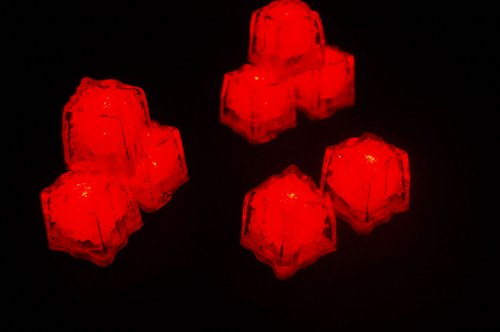 Set-of-8-Litecubes-Brand-Jewel-Color-Tinted-Ruby-Red-Light-up-LED-Ice-Cubes