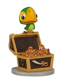 Disney Jr. Jake and the Neverland Pirates 2 1/4 inch Skully Action Figure PVC Figurine
