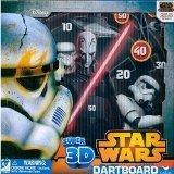Disney Star Wars Super 3d Dartboard (2 Pack)