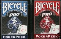 BICYCLE PRO POKERPEEK PLAYING CARDS