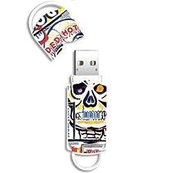 Pen Drive Integral USB 8 GB Art Skull