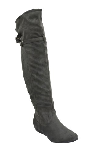6f24644a856 Chloe Boutin Women s Faux Suede Over The Knee Boots EMMA-05B0099SEQ3G