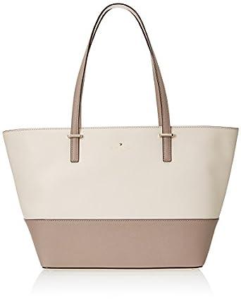 kate spade new york Cedar Street Small Harmony Shoulder Bag, Pebble/Warm Putty, One Size