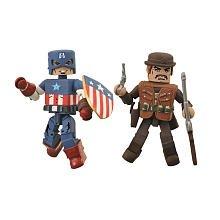 Buy Low Price Diamond Select Marvel Minimates Exclusive Mini Figure 2Pack Golden Age Captain America Dum Dum Dugan (B0051R7AC8)