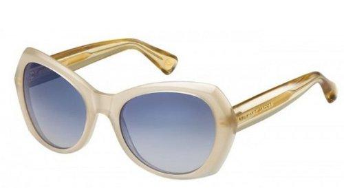 Marc JacobsMarc Jacobs MJ434/S Sunglasses-03R7 Sand (08 Dark Blue Gradient Lens)-56mm
