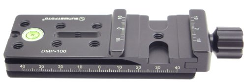 SUNWAYFOTO MP 100mm Rail Nodal Slide Arca Compatible Clamp DMP-100 Sunway