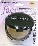 LA Colors Pressed Powder wih Applicator, BPP322 TAN, 0.35 Oz