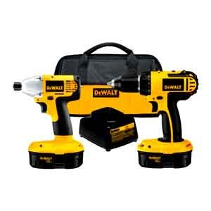 DeWalt DC720IA 18V Compact Drill and Impact Driver Kit