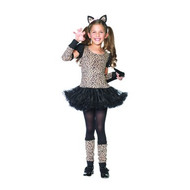 Little Leopard Cute Kids Holiday Party Costume