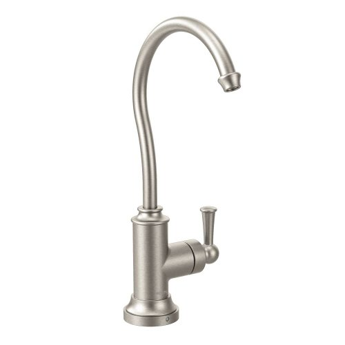 Moen S5510SRS Sip Traditional One-Handle High Arc Beverage Faucet, Spot Resist Stainless (Moen Beverage Faucet compare prices)