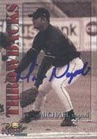 Micahel Napoli Anaheim Angels 2001 Royal Rookies Throwbacks Autographed Hand Signed... by Hall+of+Fame+Memorabilia