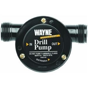 Wayne Drill Powered Pump 360 Gpm 10 ' (Wayne Portable Pump compare prices)