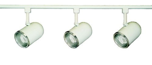 Royal Pacific 7943Wh-Cfl 3-Light Track Pack, 4-Feet, White