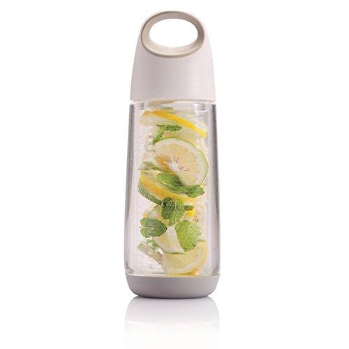 ウォーターボトル 水筒 フルーツウォーターボトル 果物 ドリンクボトル スポーツボトル デトックス 650ml 大容量