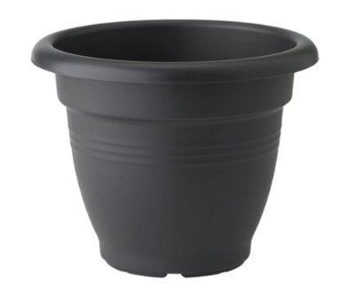 Elho verde Basics Campana 2055333 Vaso di fiori neri 25 x 25 x 19 cm