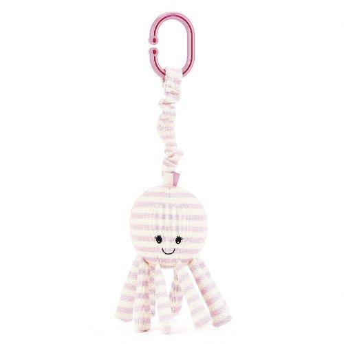 "Jellycat® Octavia Octopus Jitter - 10"" front-949690"