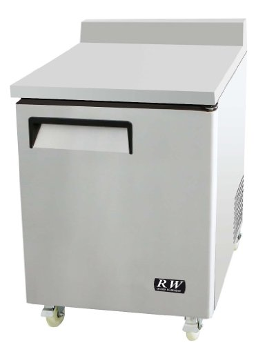 Rw Kitchen Equipment Work Top Table 1 Door Freezer front-38299