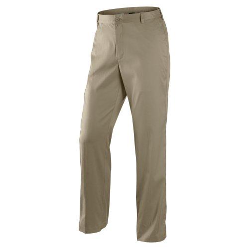 e3ce2a6ae6 Nike Dri Fit Flat Front Tech Golf Pants 472532 235 Khaki Size 36x34 ...
