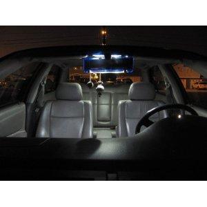Toyota Sienna Interior LED Light Kit (Bulbs) - White - 2004-2010
