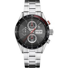 Tag Heuer Carrera Monaco Automatic Chronograph Stainless Steel Mens Watch CV2A1M.BA0796