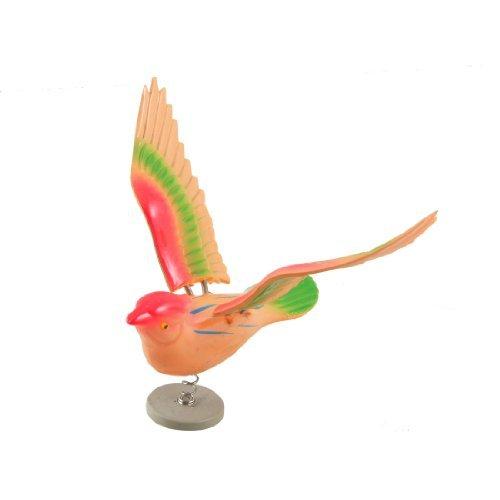 Kühlschrank Kühlschrank Decor emulierte Vogel Form Magnetic Aufkleber Orange Grün