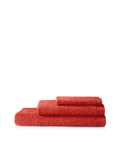 AMR Set of Three Towels, Red