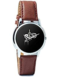 BigOwl Bike Is My Reality Analog Men's Wrist Watch 1293804526-RS1-W-BRW