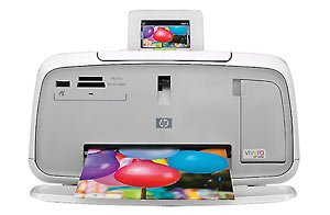 Photosmart A532 Photo Printer - Color Inkjet - 27 Second Photo - 4800 x 1200 dpi - USB, PictBridge - PC, Mac