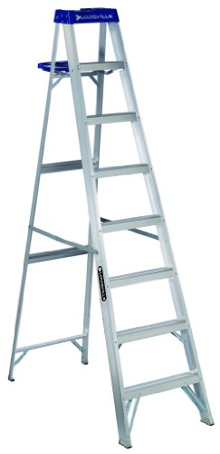 Louisville Ladder AS2110 250-Pound Duty Rating Aluminum Stepladder, 10-Feet
