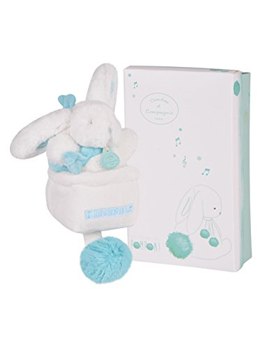 Dou Dou et Compagnie Baby Music Box Toy Turquoise DC2745 - 1