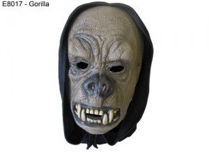 Face Mask with Hood Gorilla / Fancy Dress Costumes (Halloween Outfits)