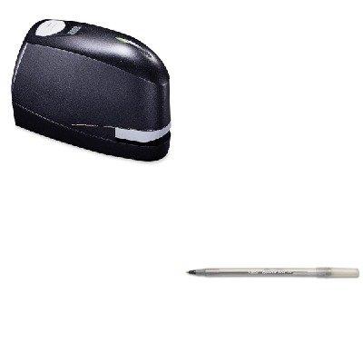 Kitbicgsm11Bkbosb8Evalue - Value Kit - Stanley Bostitch B8 Heavy-Duty Electric Stapler Value Pack (Bosb8Evalue) And Bic Round Stic Ballpoint Stick Pen (Bicgsm11Bk)
