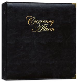 Whitman Premium Currency Banknote Album Large Notes - Clear Pages - By Whitman