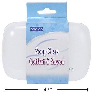 Bodico Travel Soap Case, 4.5x3x1.5 Inch