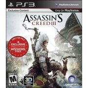 ASSASSIN'S CREED III (Target Edition) (Sony Playstation 3, 2012)  ubisoft rayman legends sony playstation 3