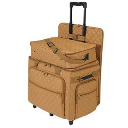 Hemline Camel Quilting Studio Collection Three Bag Trolley Set by hemline