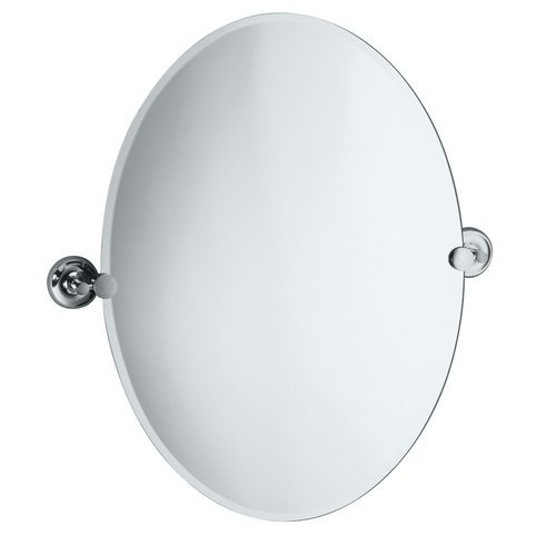 Gatco 5079 Designer Ii Oval Wall Mirror, Chrome front-274157
