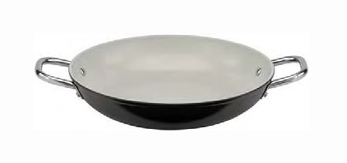 Paderno World Cuisine 14-1/8-Inch Ceramic Coated Paella Pan