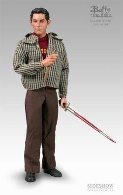 Picture of Sideshow Xander Harris Action Figure from Buffy the Vampire Slayer (B000BW8A40) (Sideshow Action Figures)