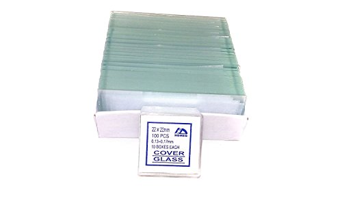 CB 7101S1 72-Pieces Blank Microscope Slides & 100-Pieces Square Cover Glass (Microscope Parts compare prices)